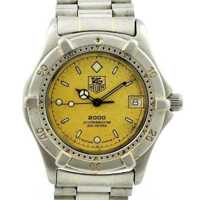 Vintage Tag Heuer 2000 Series Professional Midsize 964.013 Quartz Watch