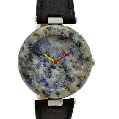 Vintage Tissot RockWatch R150 Speckled Granite Quartz Midsize Watch retro