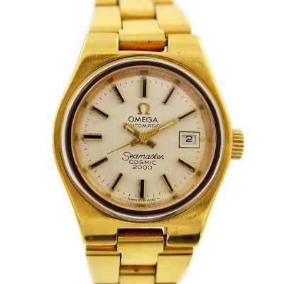 Vintage Omega Seamaster Cosmic 2000 Automatic Ladies Watch 1970