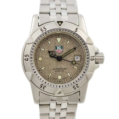 Pre-Owned and Collectible Tag Heuer 1500 Professional Exclusive Quartz Ladies Watch Model WD1411-PO 1990