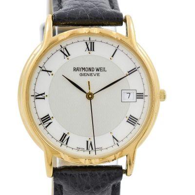 Pre-owned vintage retro Raymond Weil Geneve Date Quartz Midsize Watch 5534