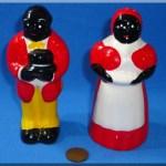 Vintage Ceramic Negro Salt Pepper Shakers Uncle Mose Aunt Jemima Black Americana Vintagetoys Com Item 31259
