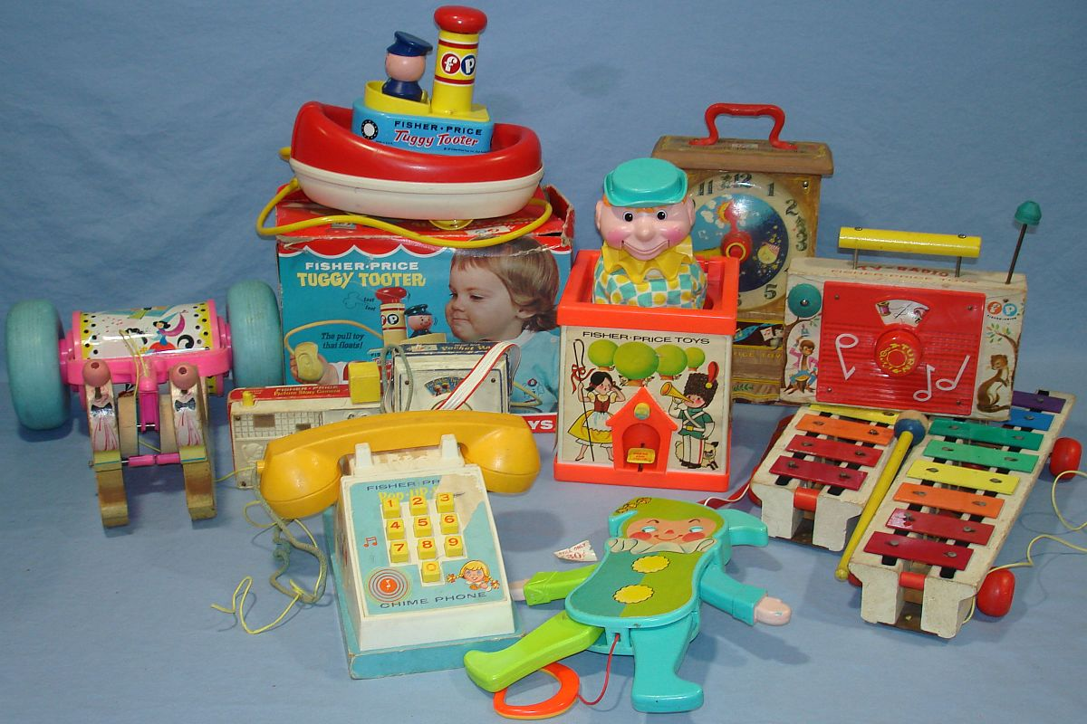 Vintage Fisher Price Dolls 1970s