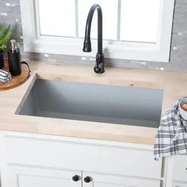 undermount kitchen sinks cast iron