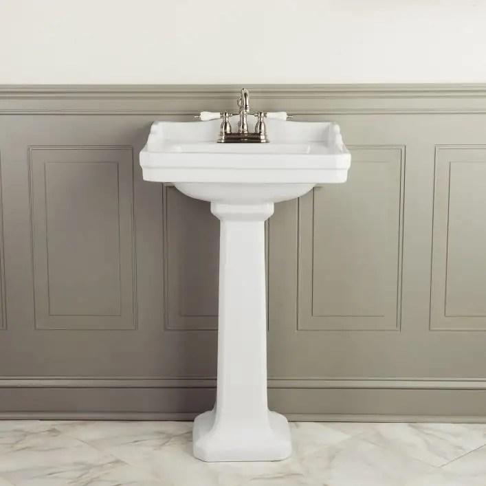 zurich 22 inch pedestal sink