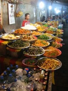 Food in the night market