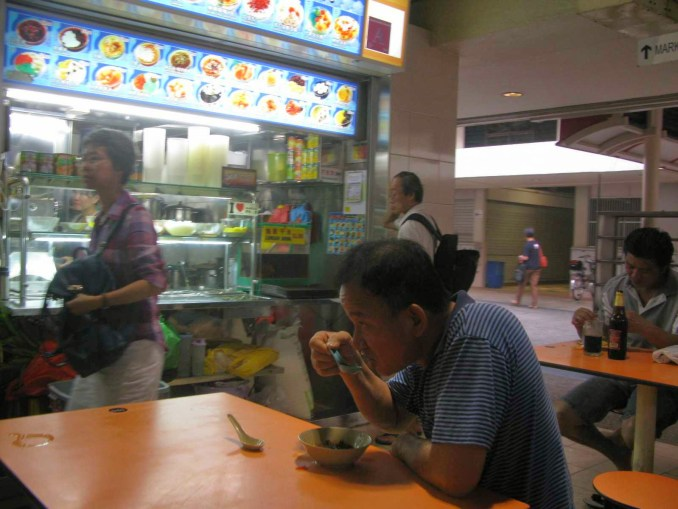 Typical food court