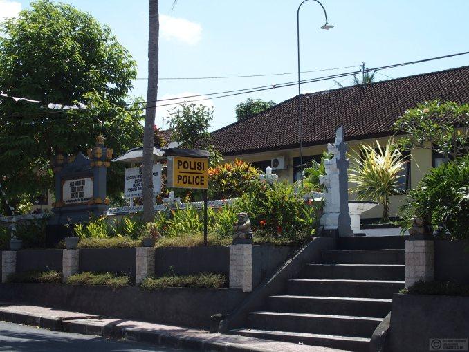 Ubud police station