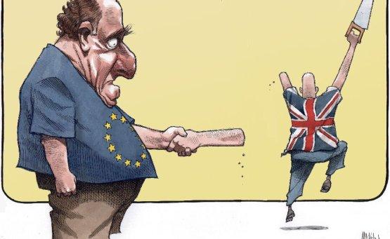 Brexit Cartoon Arm Saw - Vintage Value Investing