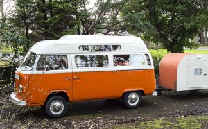VW T2 campervan self drive in Scotland
