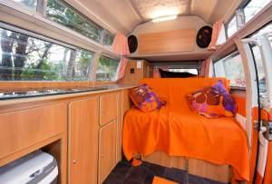 Vintage VW Campers Lola interior day mode
