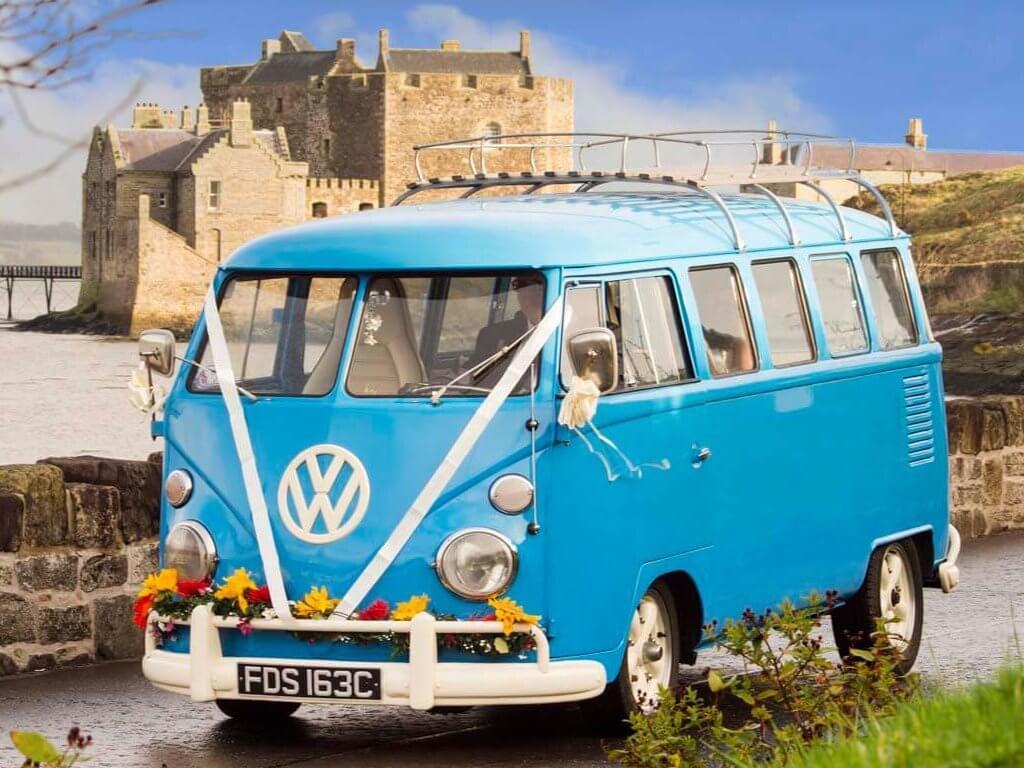 unique wedding transport in Scotland