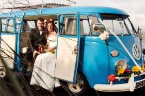 Vintage VW Campers love weddings