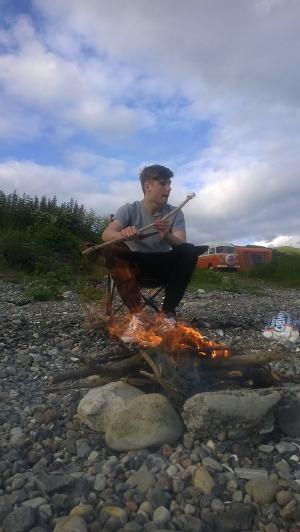Burns & Lola adventures VW Camping 2014