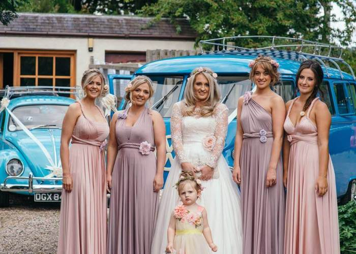 Louise & Bridesmaids By Photos By Zoe