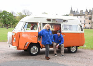 Lola orange VW for hire
