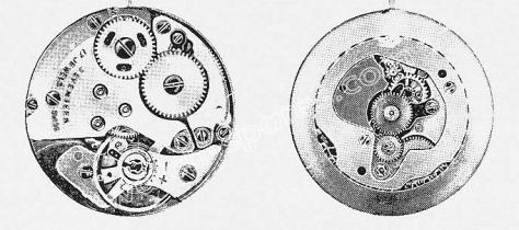 A Schild AS 1941 watch movement