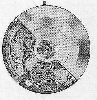 A Schild AS 1993 watch movements