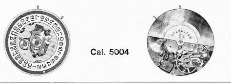 A Schild AS 5007 watch movements