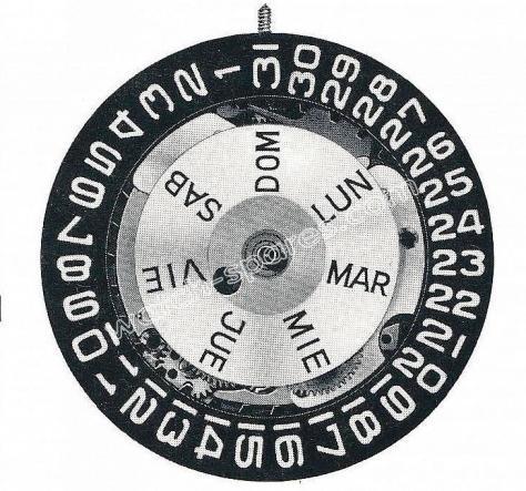 Enicar AR 1147 B watch movement