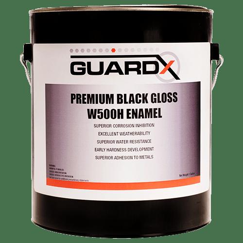 Premium Black Gloss W500H Enamel_Front