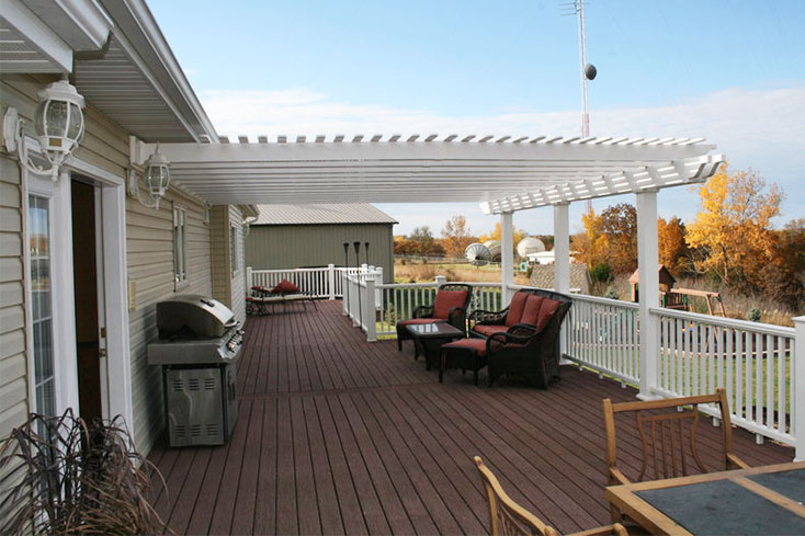pergola ideas attached and free