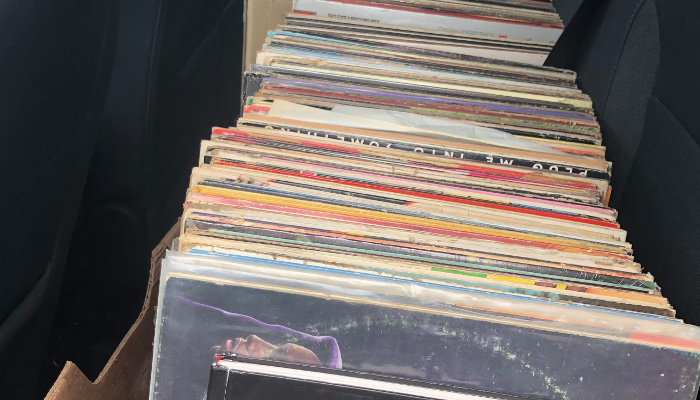 Records in Car