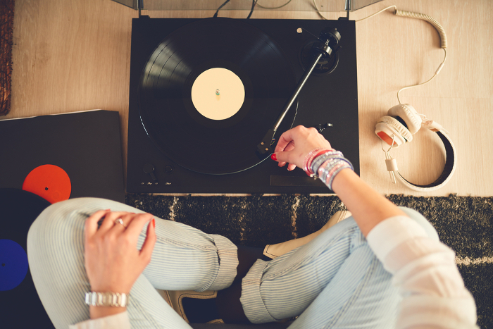Headphones and Vinyl for Home