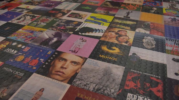 Vinyl Images on floor