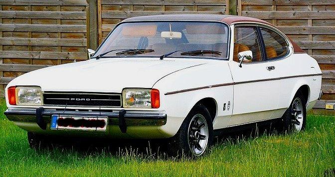 vinyldach ford capri