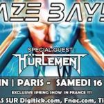 "Blaze BAYLEY - Concert à Paris. ""Tour Of The Eagle Spirit"""
