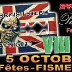 British Steel Saturday Night - Festival - Fismes - samedi, 5 octobre 2019 - Salle des Fêtes Municipale