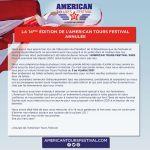 American Tours Festival/ Annulé !