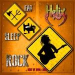 """Helix - """"Eat Sleep Rock"""" nouvelle compilation. Ecoutez le titre sur vinylestimes."""
