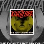 "Le groupe de hard rock suisse, KING ZEBRA, nouveau single ""She Don't Like My R'n'R""."