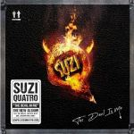 "SUZI QUATRO - THE DEVIL IN ME CD/LP - 26 Mars 2021. Ecoutez ""The Devil In Me"""