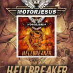 "Motorjesus - ""Hellbreaker"" nouvel album - Ecoutez ""Car Wars"""