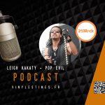 [Interview] – 213Rock Harrag Melodica – Leigh Kakaty du groupe Pop Evil