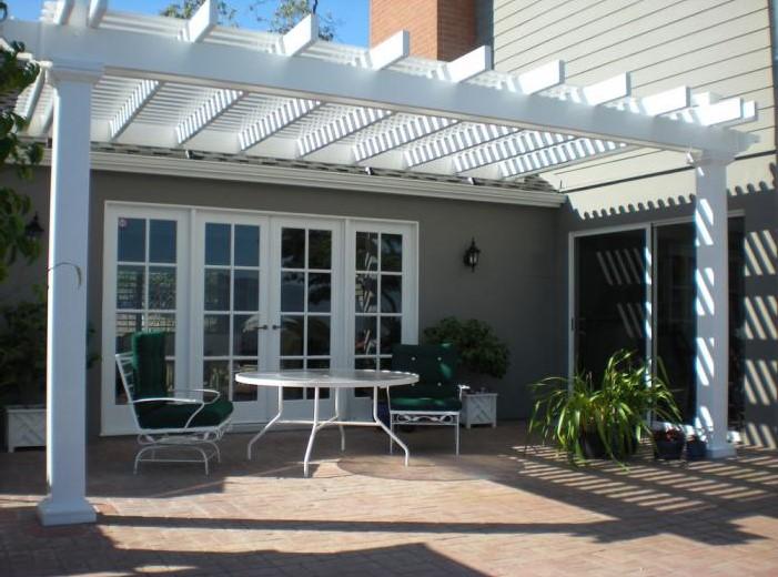 vinyl pergolas vinyl garden patio