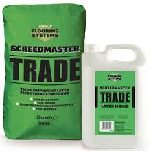 Bostik Screedmaster Trade Bag And Bottle