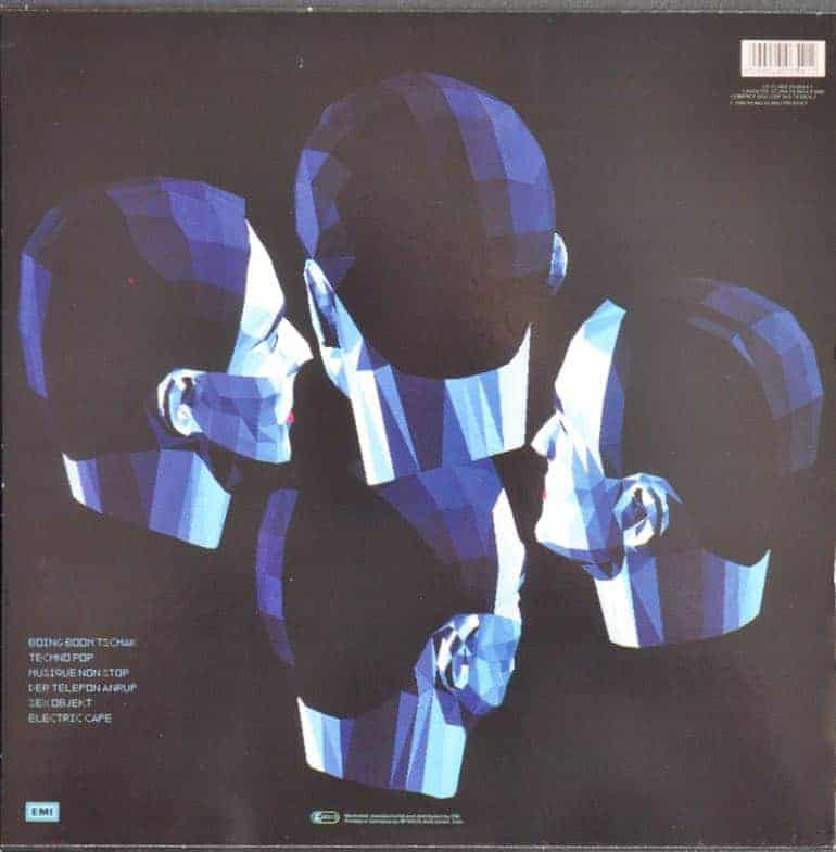 Kraftwerk Electric Cafe Blue Vinyl