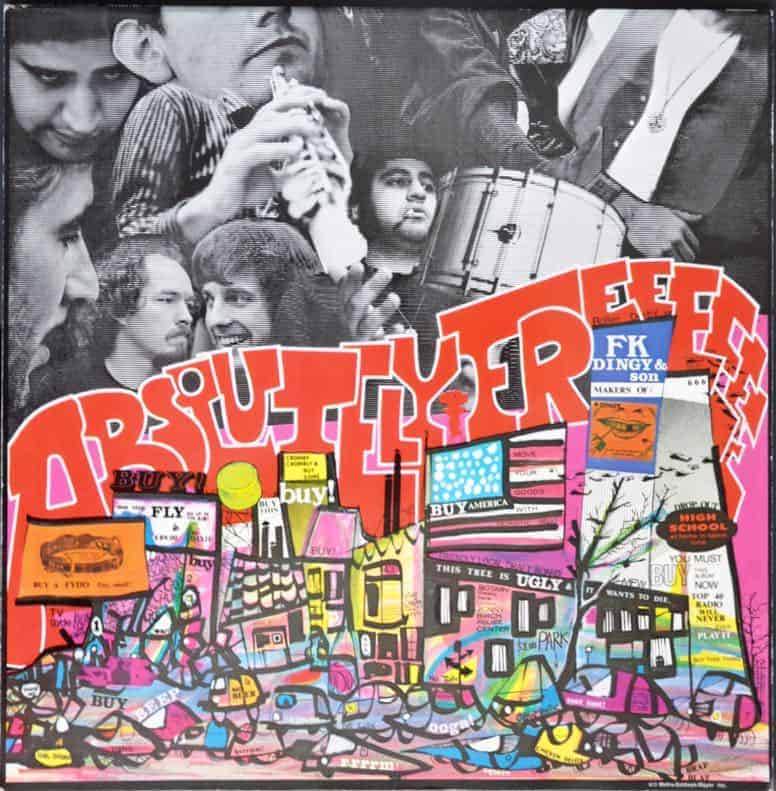 Mothers Of Invention The Absolutely Free