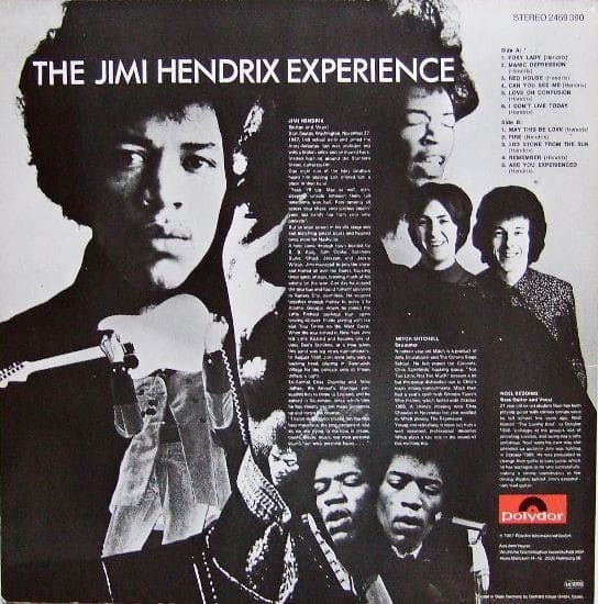 a review of the album are you experienced by the jimi hendrix experience Are you experienced is the title song for the jimi hendrix experience 1967 debut album it has been described as one of jimi hendrix's most original compositions.