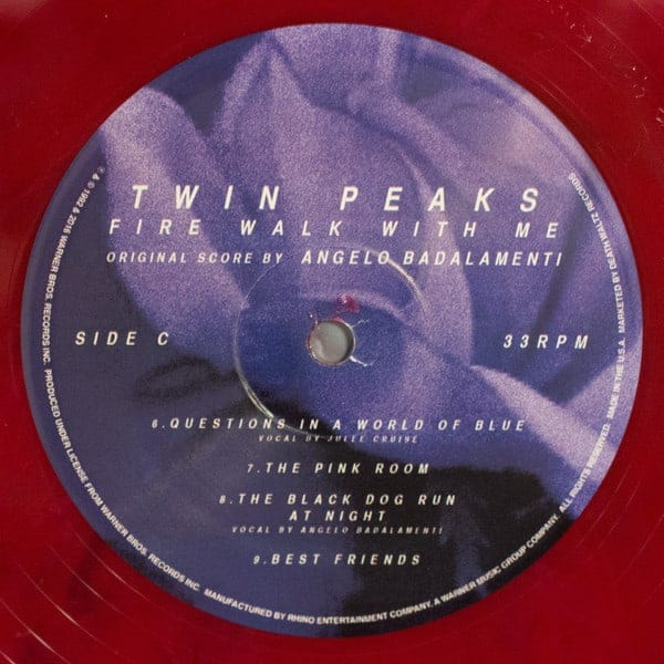 Twin Peaks Fire Walk With Me Angelo Badalamenti Color