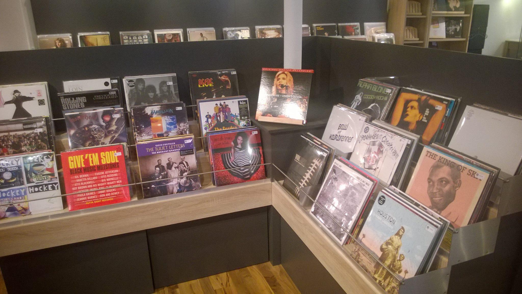 Nagelneues Vinyl