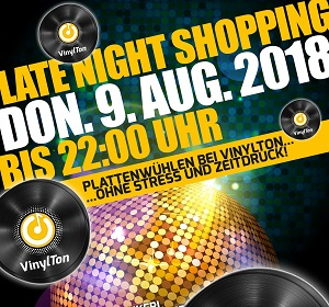 Donnerstag 9. 8. – Late Night