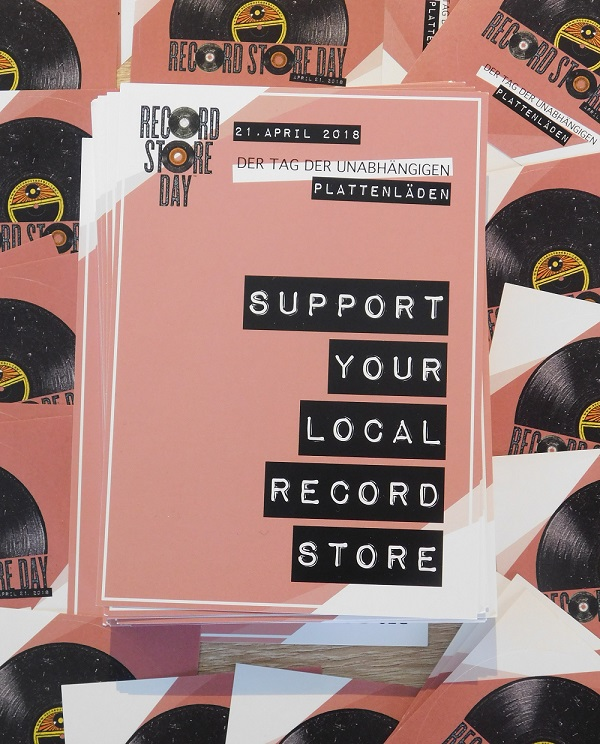 Samstag 21. April: RecordStoreDay 2018