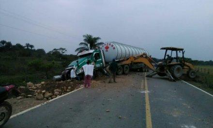 Dos accidentes generaron bloqueos en la vía Yopal – Aguazul- Maní