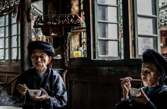 Tiempo de comida, China (Karen Morris-Lanz).