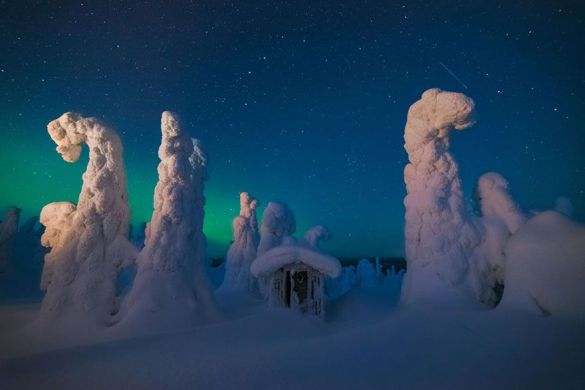 Cabaña mística, Finlandia (Pierre Destribats).